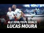 All of Lucas Moura's 2018/19 Premier League goals