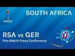 RSA v. GER - South Africa - Pre-Match Press Conference