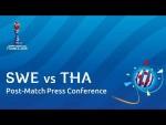 SWE v. THA - Post-Match Press Conference