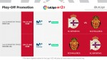 Dates and kick-off times for the LaLiga 1|2|3 play-off final