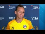 Christiane Endler – Player of the Match – USA v Chile