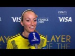 Kosovare Asllani – Player of the Match – Sweden v Thailand