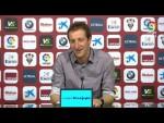 Rueda de prensa de Ramis tras el Albacete BP vs RCD Mallorca (1-0)