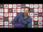 Rueda de prensa de Vicente Moreno tras el Albacete BP vs RCD Mallorca (1-0)