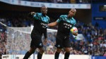 Bolt scores in charity game at Stamford Bridge