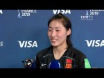 Peng Shimeng – Player of the Match – China PR v Spain