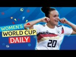 Germany and France secure top spots | Women's World Cup Daily