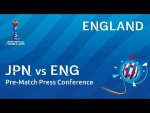 JPN v. ENG - England - Pre-Match Press Conference