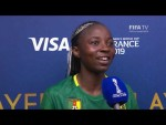Ajara Nchout – Player of the Match – Cameroon v New Zealand