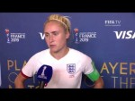 Steph Houghton – Player of the Match – England v Cameroon