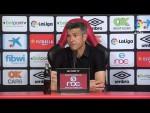 Rueda de prensa de Pep Lluís Martí tras el RCD Mallorca vs RC Deportivo (3-0)