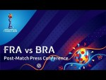 FRA v. BRA - Post-Match Press Conference