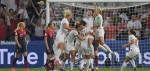 England cruise into semi-finals