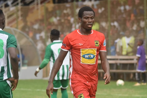 Abdul Fatawu Safiu joins Kotoko teammates in camp ahead of Hearts clash