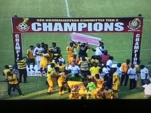 NC Special Competition: Ashgold crowned champions of tier 2 after beating Nzema Kotoko in final