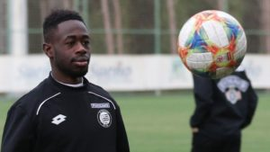 Winfred Amoah scores for SK Sturm Graz in pre-season friendly