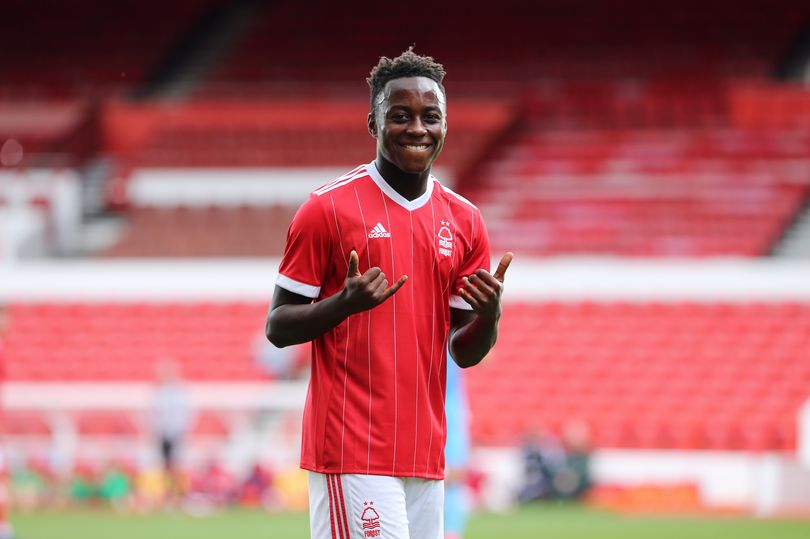 Ghanaian prodigy Arvin Appiah name Nottingham Forest youth player of the season