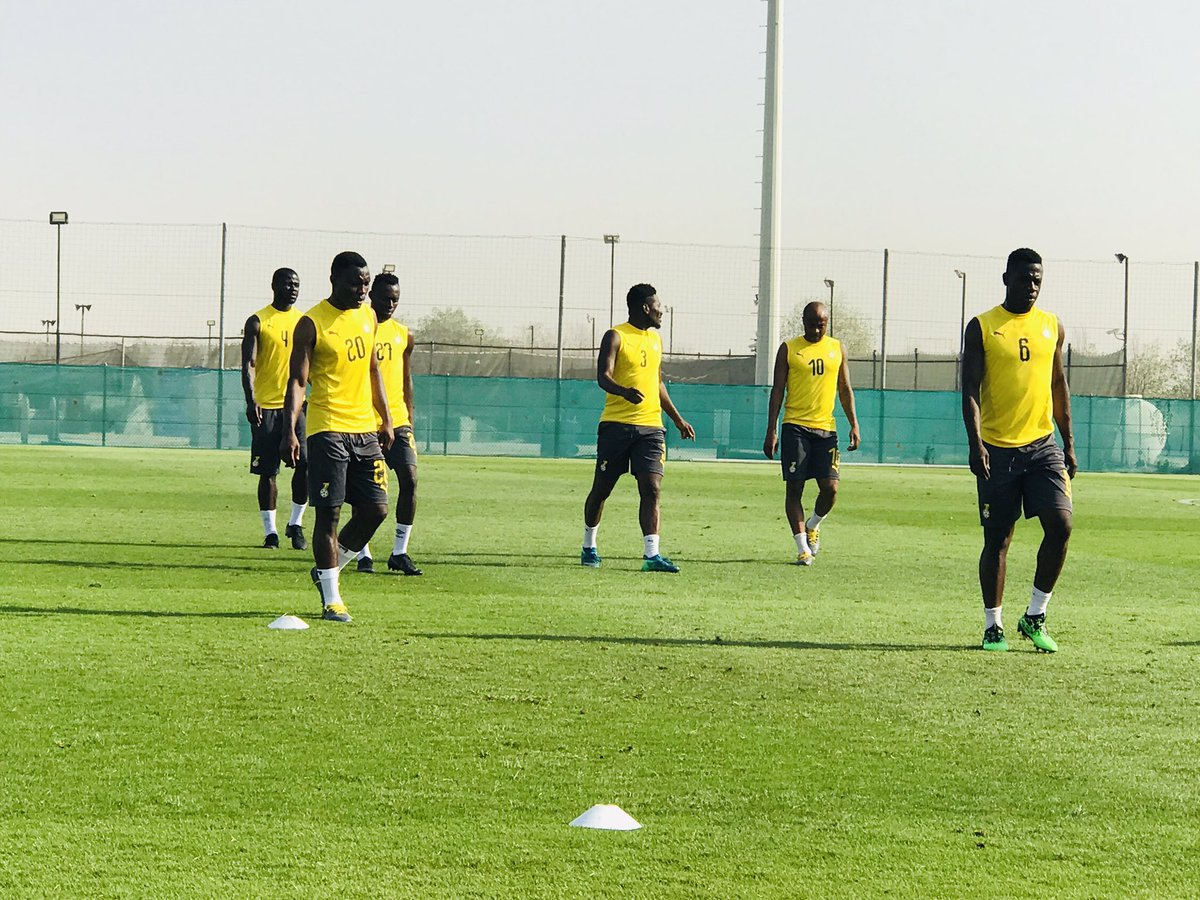 Black Stars complete Wednesday morning training; No injury concern in camp