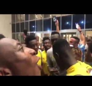 WATCH: Black Stars in a good mood ahead of AFCON opener tomorrow