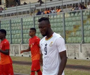 AFCON 2019: New Black Stars striker happy his dream to play for national team has come true