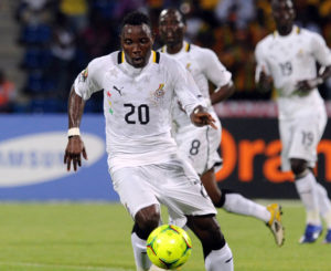 Kwadwo Asamoah confirms best position; says Kwesi Appiah has accepted to deploy him in midfield