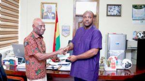 Sports Ministry reward former Black Stars team doctor