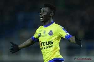 Ghanaian international Nana Opoku Ampomah in trouble after absenting himself from Waasland-Beveren training