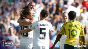 Women's WC: South Africa 0-4 Germany – Banyana Banyana fail to gain a single point as they bow out of tourney