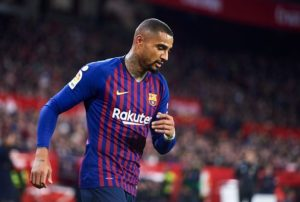 KP Boateng's future with Sassuolo uncertain following return from Barcelona