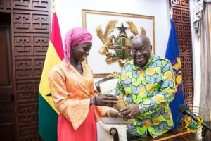 Black Maidens star Mukarama Abdulai receives GH¢30K from President Akuffo-Addo