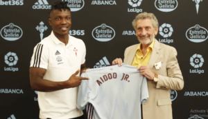 BREAKING NEWS: Joseph Aidoo joins Spanish side Celta Vigo on five-year deal [VIDEO]