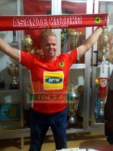 Asante Kotoko new coach Kjetil Zachariassen begins work today