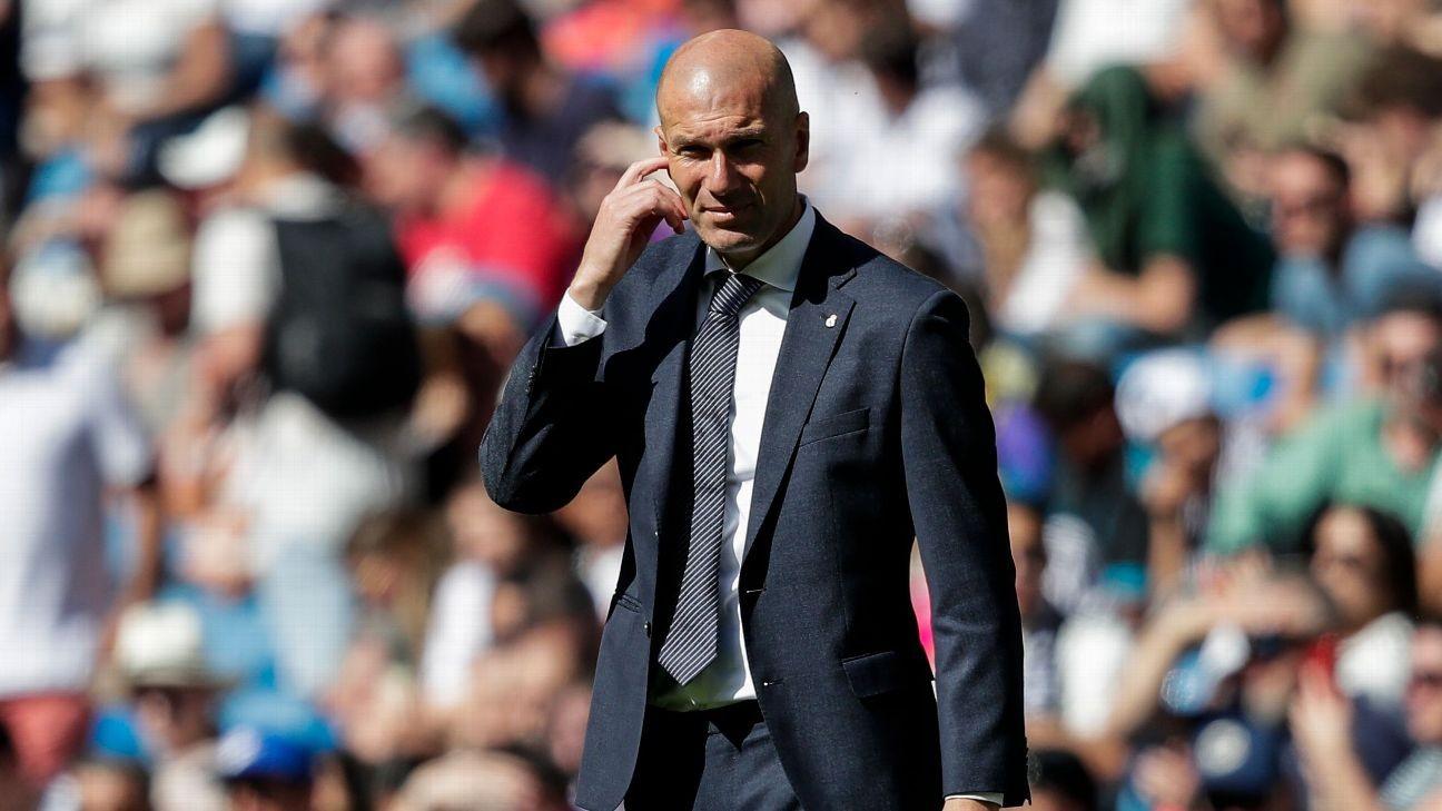 Zidane leaves preseason for 'personal reasons'