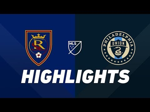 Real Salt Lake vs. Philadelphia Union | HIGHLIGHTS - July 13, 2019