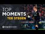 TOP Moments Ter Stegen LaLiga Santander 2018/2019