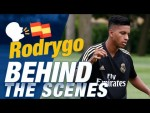 Why does Rodrygo speak Spanish so well?