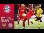 Lots of Chances, Unlucky Defeat |Arsenal FC vs. FC Bayern 2-1 | Highlights - ICC 2019
