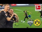 Seattle Sounders - Dortmund 1-3 | Highlights | Dream Comes True for Young Cancer Patient