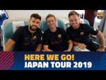 Barça travel to Tokyo