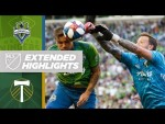 Seattle Sounders FC vs. Portland Timbers | HIGHLIGHTS - July 21, 2019