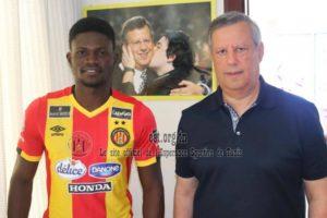 Espérance sign Kotoko midfielder Kwame Bonsu on a four-year deal