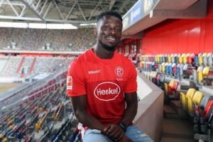 My performance on the pitch will speak for me- Fortuna Dusseldorf youngster Nana Ampomah