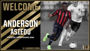 USL side Birmingham Legion complete signing of Ghanaian international Asiedu Anderson