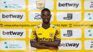 AshantiGold new signing Atta Akusi eyes GPL title in debut season