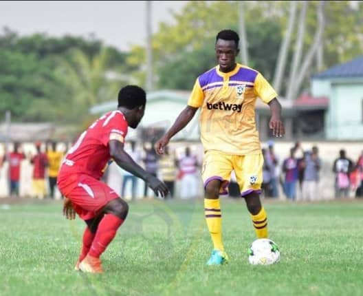 CONFIRMED: Defender Bright Enchil joins Kotoko from Medeama on a permanent deal