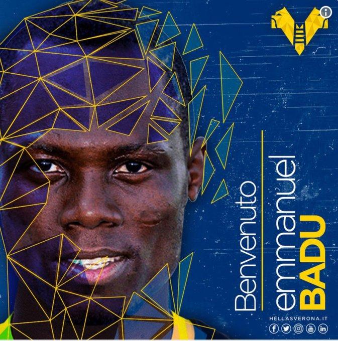 Emmanuel Agyrmang-Badu joins Hellas Verona on a long season loan