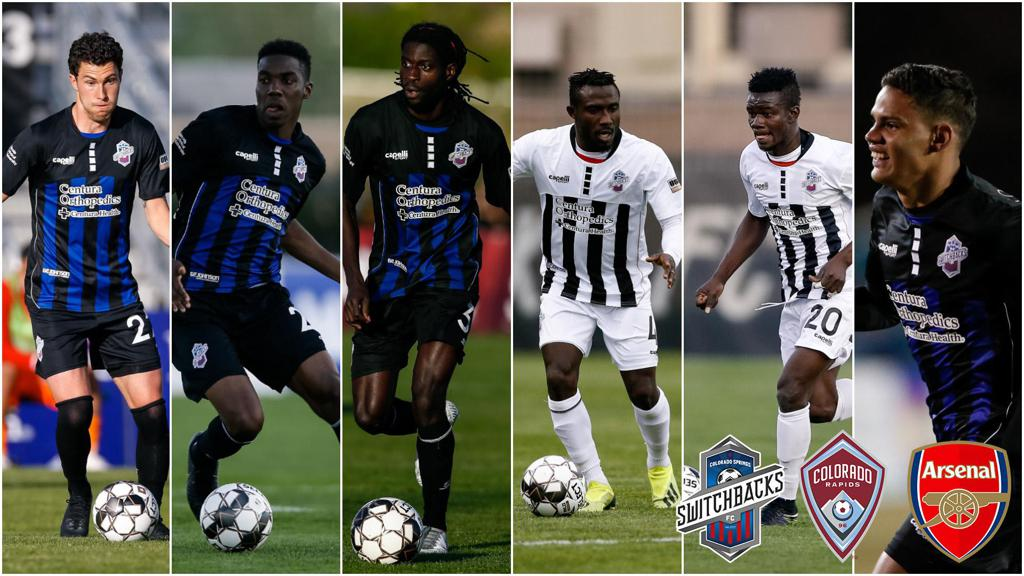 Ghanaian midfielder Kwasi Donsu plays for Colorado Rapids in friendly against Arsenal
