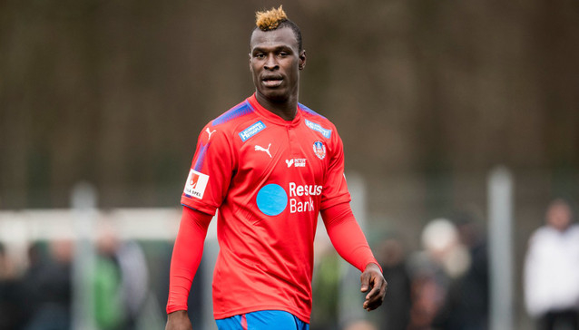 Edwin Gyimah devotes victory against Bucs to Thidiela his club's chairman