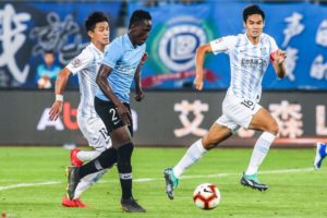 Chinese Super League: In-form Emmanuel Boateng scores in four consecutive games for Dalian Yifang