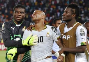 Ghana joins list of big giants to exit AFCON